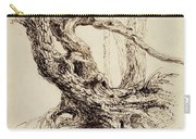 Gnarled Tree Trunk Carry-all Pouch