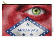 Go Arkansas  Carry-all Pouch by Semmick Photo