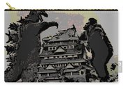 Godzilla And King Kong Hanging Out In Tokyo Carry-all Pouch