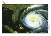 Goes 8 Satellite Image Of Hurricane Fran Carry-all Pouch by Science Source