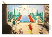 Going To The Taj. Carry-all Pouch