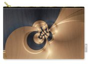 Gold And Indigo Carry-all Pouch