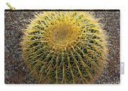 Gold Barrel Cactus   No 1 Carry-all Pouch