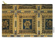 Gold Cathedral Ceiling Italy Carry-all Pouch