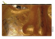 Gold Face Of Buddha Carry-all Pouch