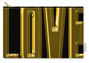 Gold Love Carry-all Pouch