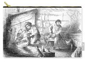 Gold Mining Camp, 1853 Carry-all Pouch