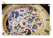 Gold Pocket Watch Carry-all Pouch