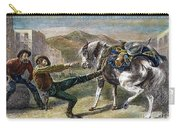 Gold Prospectors, C1876 Carry-all Pouch