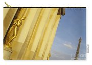 Gold Statue . Trocadero. Paris Carry-all Pouch