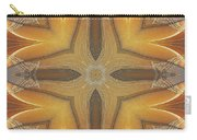 Golden Abstarct Energy Carry-all Pouch