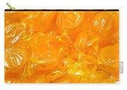 Golden Butterscotch Square Carry-all Pouch
