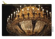Golden Chandelier Carry-all Pouch