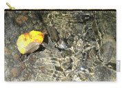 Golden Clear Ripples Carry-all Pouch