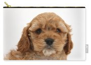 Golden Cockerpoo Puppy Carry-all Pouch