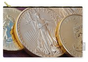 Golden Coins II Carry-all Pouch