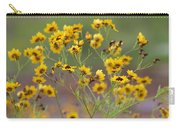 Golden Coreopsis Tickseed Wildflowers Carry-all Pouch