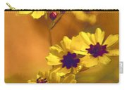 Golden Coreopsis Wildflowers  Carry-all Pouch