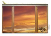 Golden Country Sunrise Window View Carry-all Pouch by James BO  Insogna