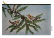 Golden Crowned Kinglets Carry-all Pouch