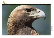 Golden Eagle In Profile Carry-all Pouch