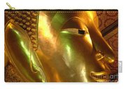 Golden Face Of Buddha Carry-all Pouch
