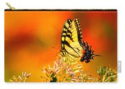 Golden Flying Flower Carry-all Pouch