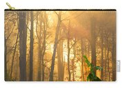 Golden Fog Thru The Trees Carry-all Pouch