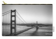 Golden Gate Black And White Carry-all Pouch