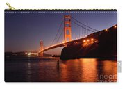 Golden Gate Bridge At Night 2 Carry-all Pouch