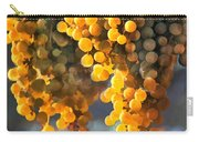 Golden Grapes Carry-all Pouch by Elaine Plesser