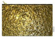 Golden Ice Crystals Carry-all Pouch