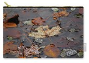 Golden Maple Dew Drops Carry-all Pouch