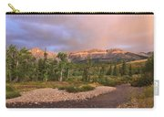 Golden Montana Mountain Carry-all Pouch