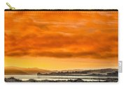 Golden Morning Over Humboldt Bay Carry-all Pouch