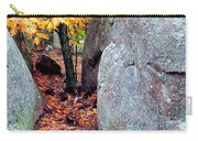Golden Oak Through Boulders At Elephant Rocks State Park Carry-all Pouch