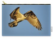 Golden Osprey In Dawn's Early Light Carry-all Pouch