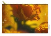 Golden Roses Carry-all Pouch by Svetlana Sewell
