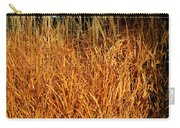 Golden Silver Grass Carry-all Pouch