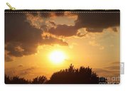 Golden Sky Over Genesee Carry-all Pouch