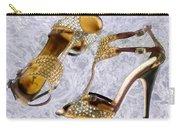 Golden Studded Stilettos Carry-all Pouch