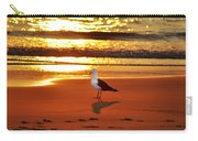 Golden Sunrise Seagull Carry-all Pouch