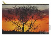 Golden Sunset Over Circle B Bar Sandstone Carry-all Pouch