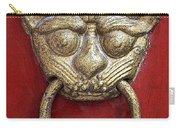 Golden Temple Door Knocker  Carry-all Pouch