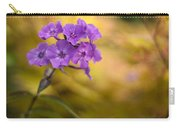 Golden Violets Carry-all Pouch