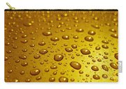 Golden Water Drops. Business Card. Invitation Etc. Carry-all Pouch
