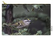 Goldencrowned Kinglet Carry-all Pouch