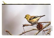 Goldfinch In Sweetgum Carry-all Pouch