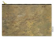 Goldtone Stone Abstract Carry-all Pouch
