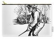 Golf, C1920 Carry-all Pouch